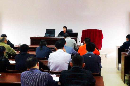 惠安:开展信访培训  提高业务水平